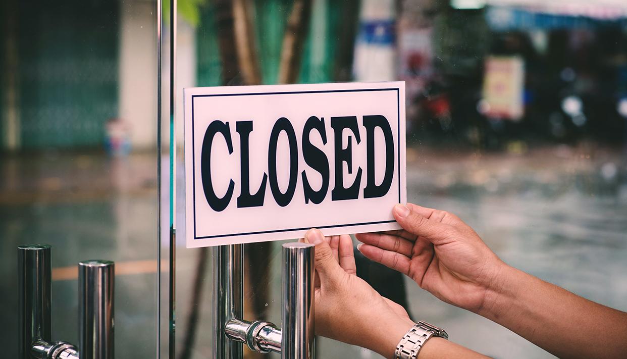Closing barbershop